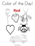 Color of the Day! Coloring Page