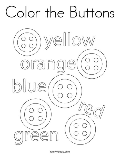 Color the Buttons Coloring Page