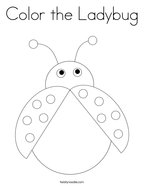 Color the Ladybug Coloring Page