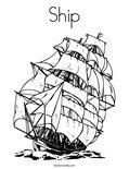 ShipColoring Page
