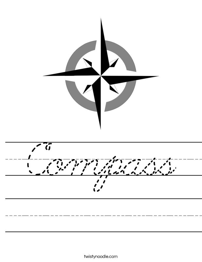 Compass Worksheet