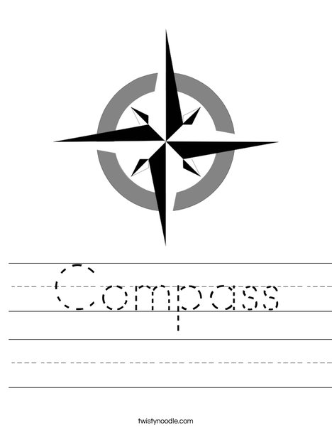 Printables Compass Rose Worksheets compass rose worksheets imperialdesignstudio worksheet