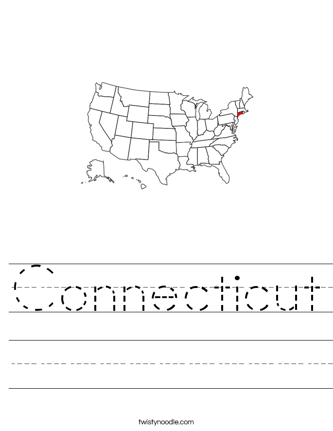 Connecticut Worksheet