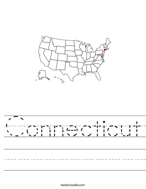 Connecticut Worksheet
