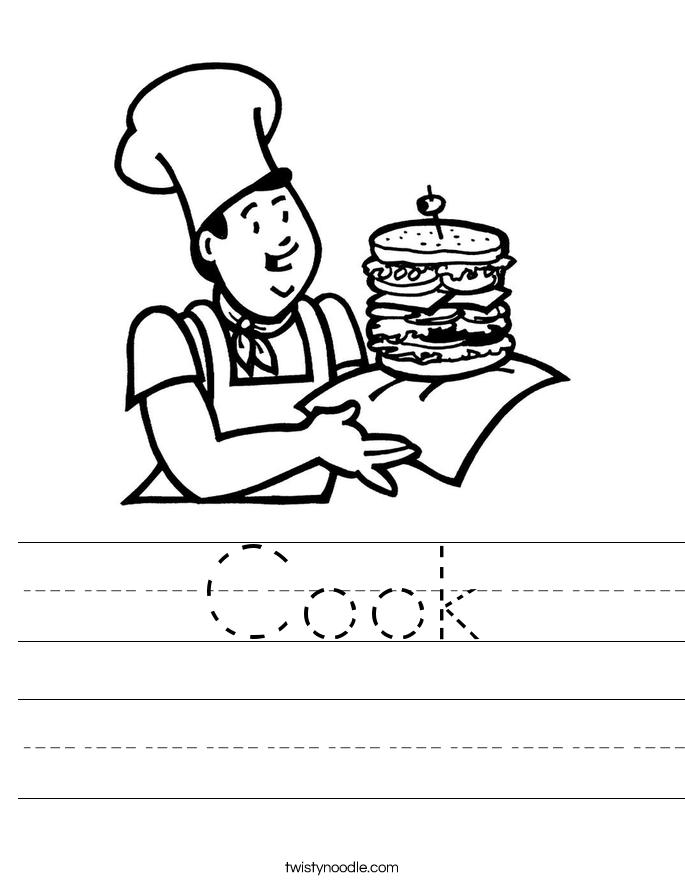 Cook Worksheet