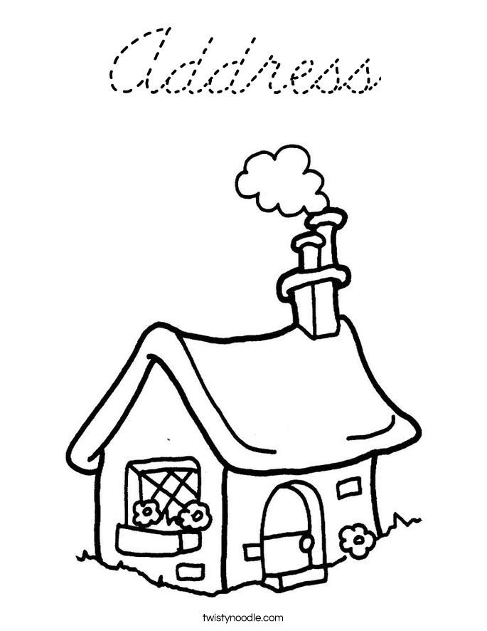Dollhouse Book Pages Coloring Pages