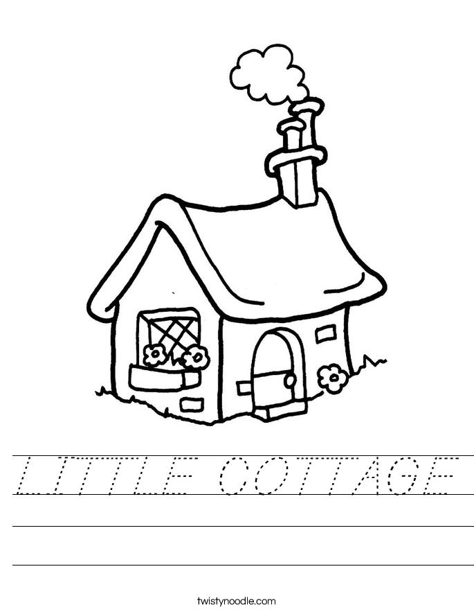 LITTLE COTTAGE Worksheet