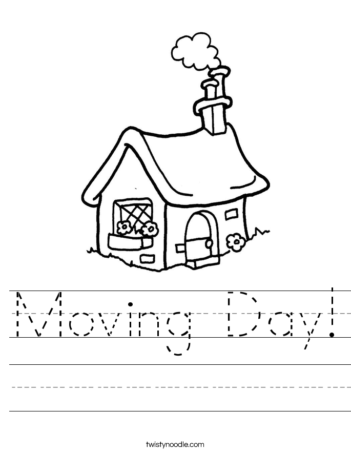 Moving Day! Worksheet