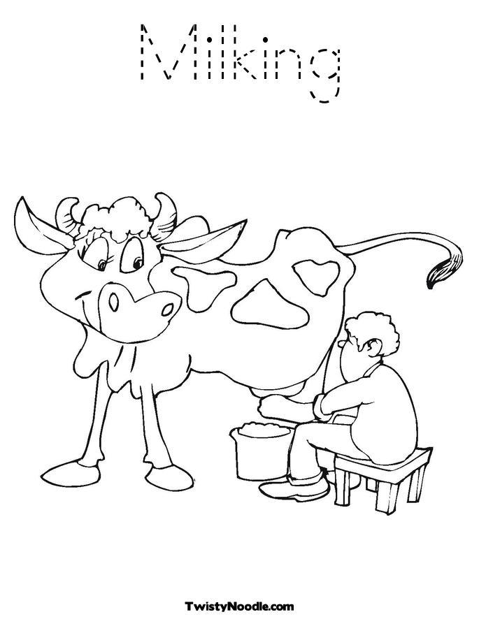 milked
