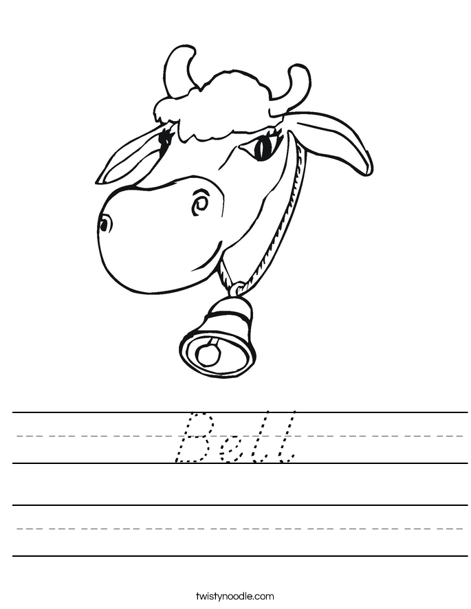 Bell Worksheet
