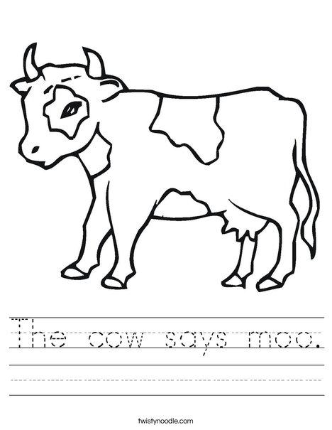Calf Worksheet
