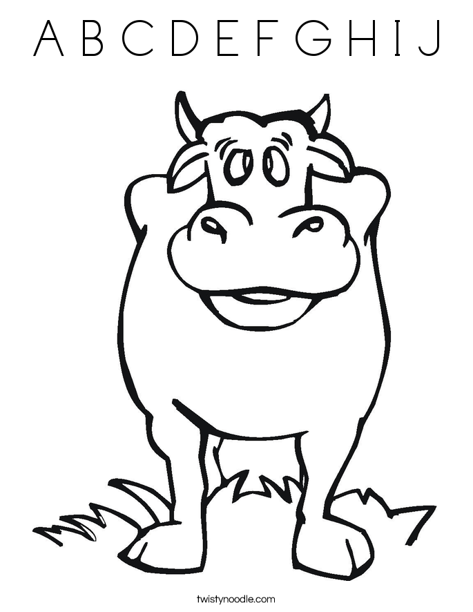 a b c coloring pages - photo #30