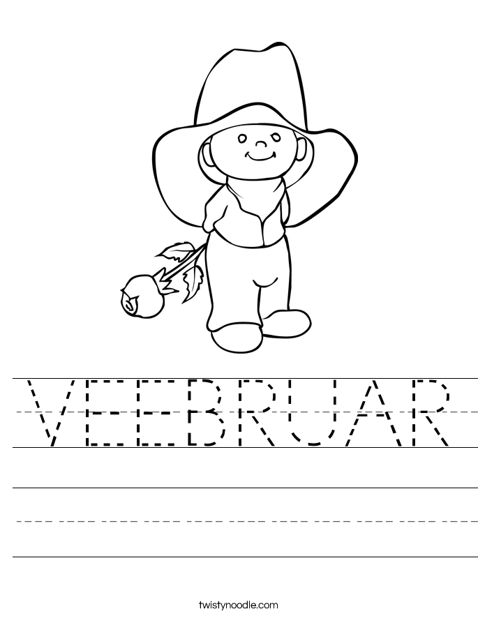 VEEBRUAR Worksheet