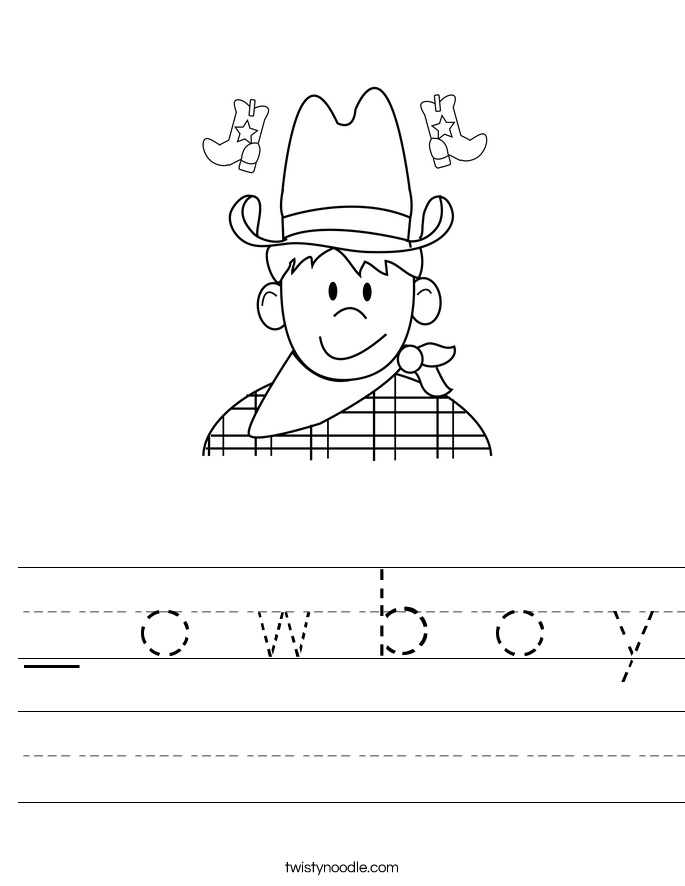_ o w b o y Worksheet