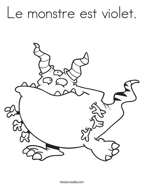 Creature with 6 arms Coloring Page