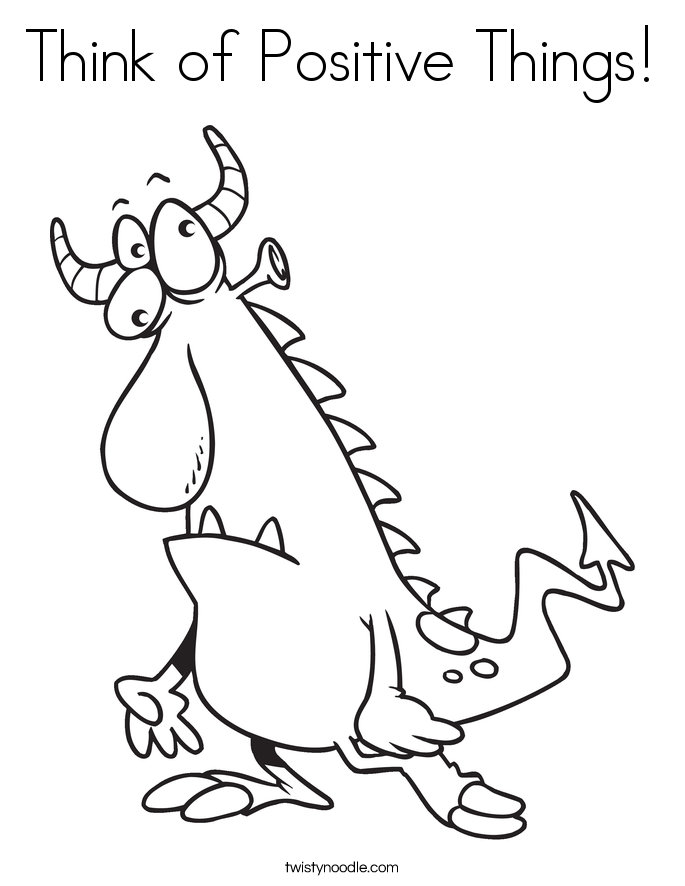 positive attitude coloring pages - photo#3