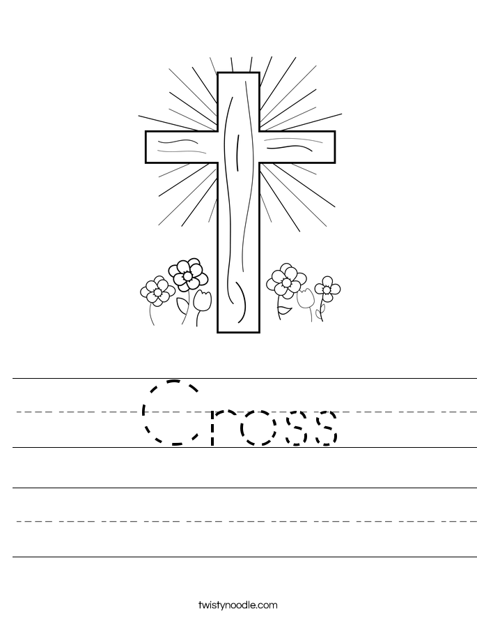 Cross Worksheet