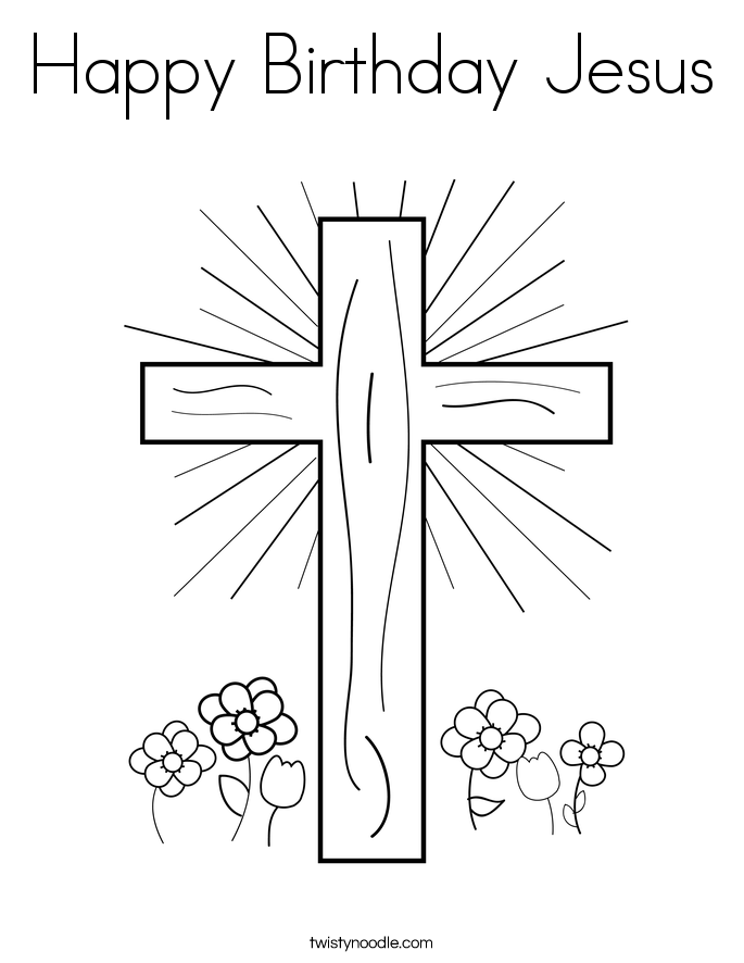 Coloring Pages Jesus Cross Jesus On The Cross