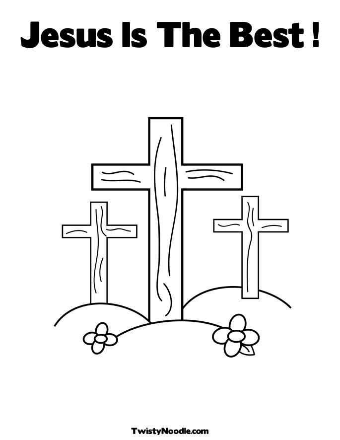 Free Coloring Pages Of Cross And Dove