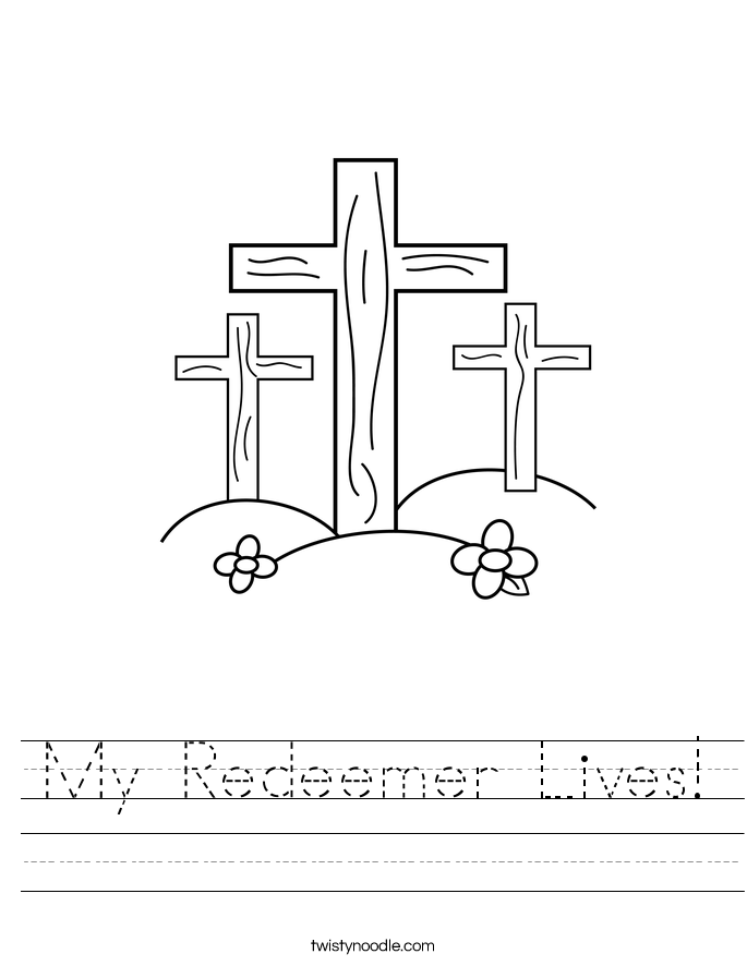My Redeemer Lives! Worksheet