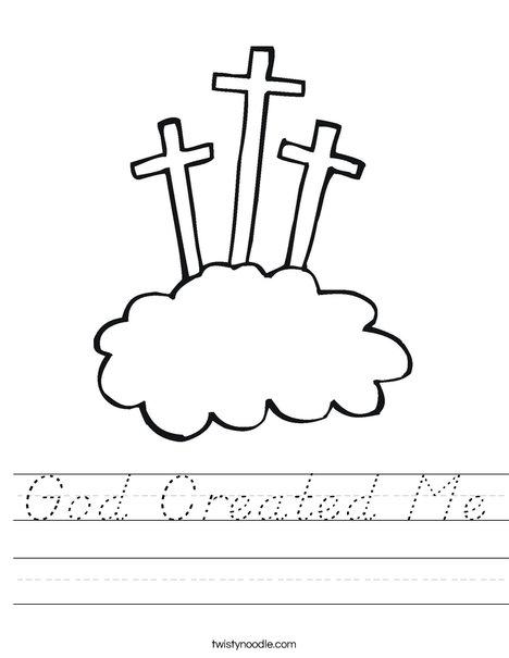 Crosses Worksheet