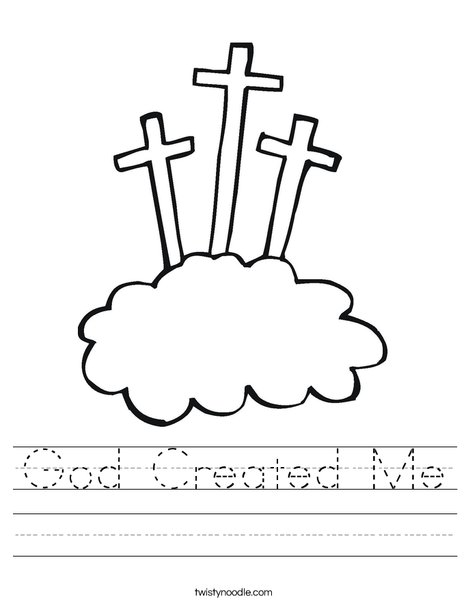 Crosses Worksheet