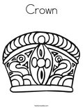 CrownColoring Page