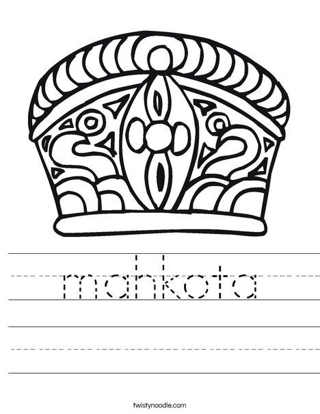 Crown Worksheet