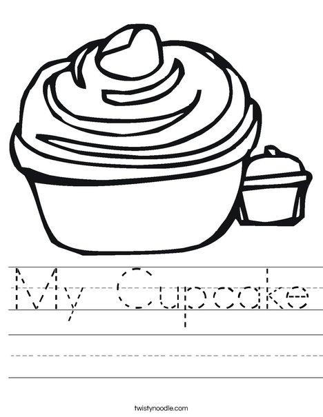 Cupcake Worksheet