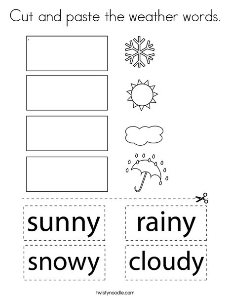Printable Weather Colouring Pages - | Coloring pictures for kids ... | 605x468