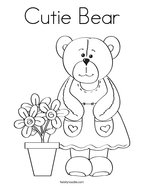 bear coloring page dress the teddy bear coloring page grizzly bear