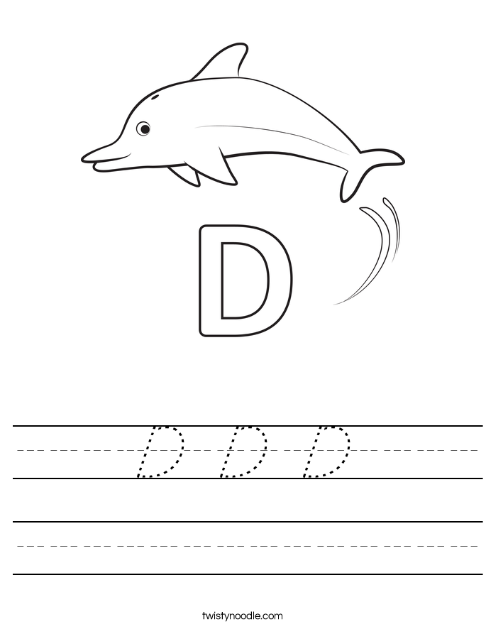D D D Worksheet