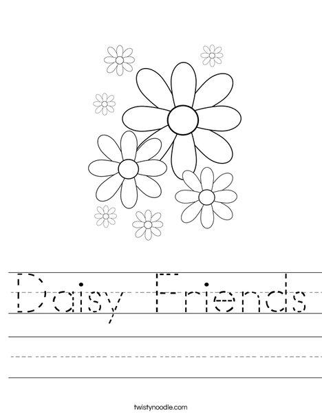 Daisy Worksheet