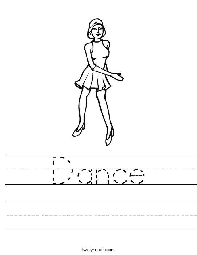 Dance Worksheet
