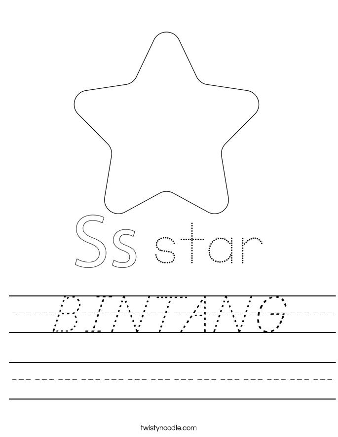 BINTANG Worksheet
