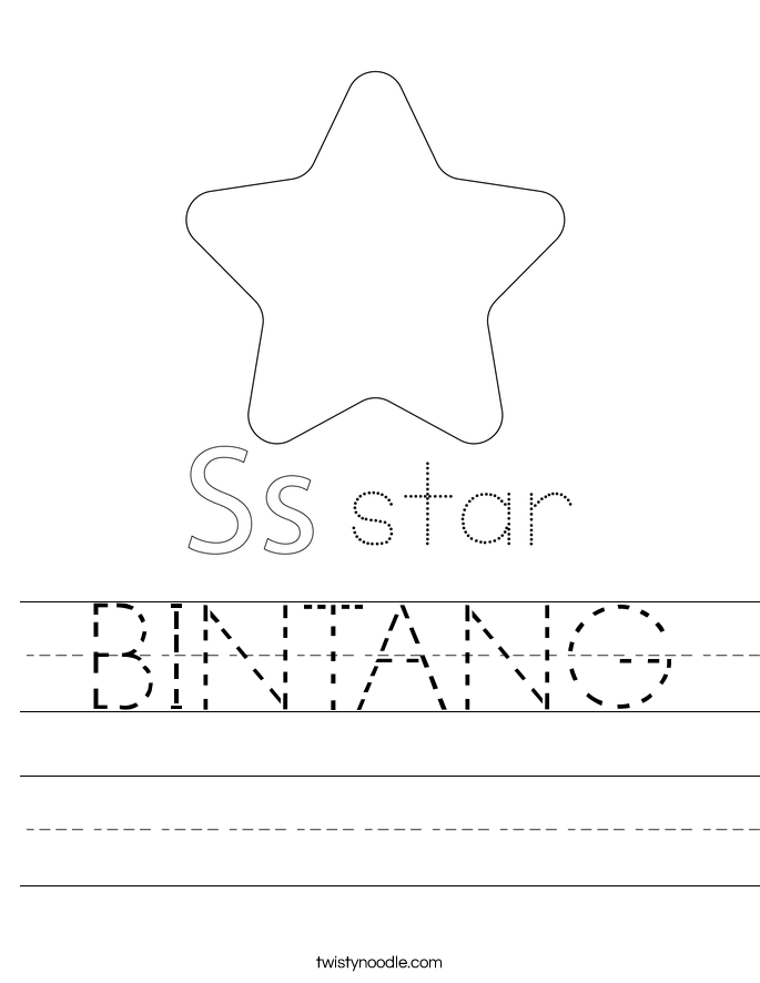 BINTANG Worksheet
