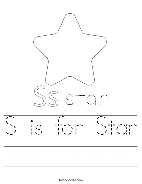 Dancing Star Worksheet