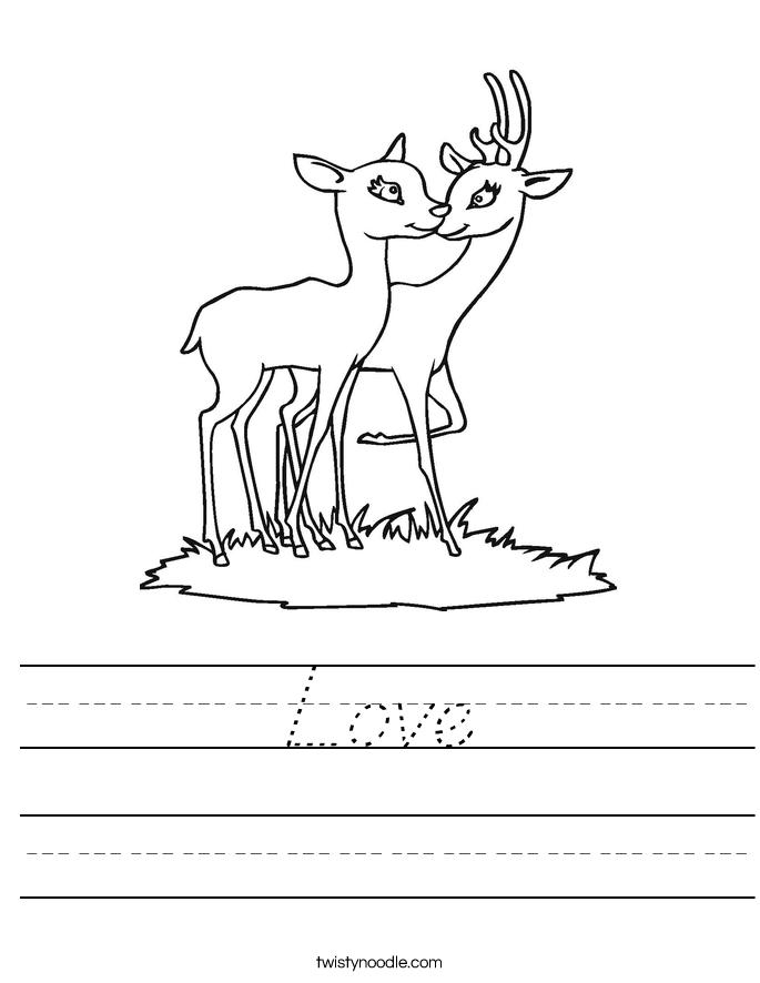 Love Worksheet