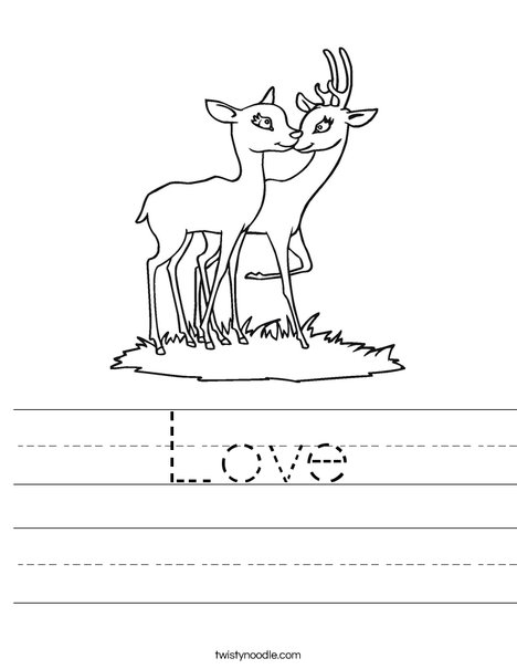 Love Worksheet