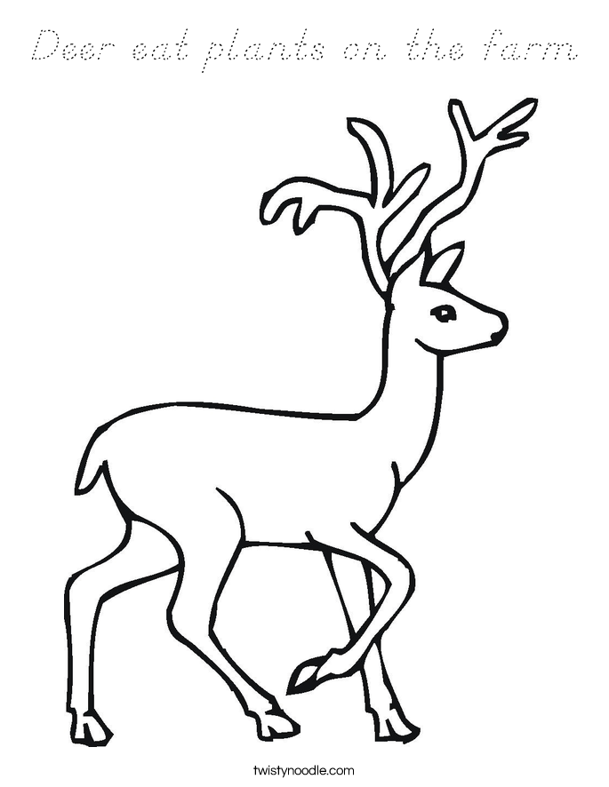 ... deer coloring page wild animal doe and fawn coloring pages and kids