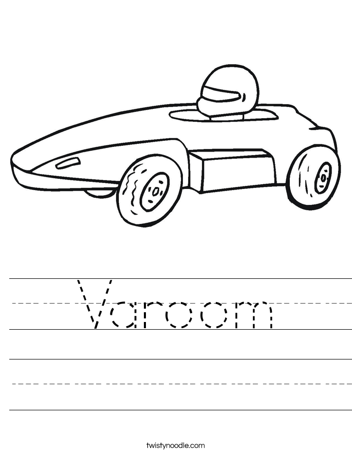 Varoom Worksheet