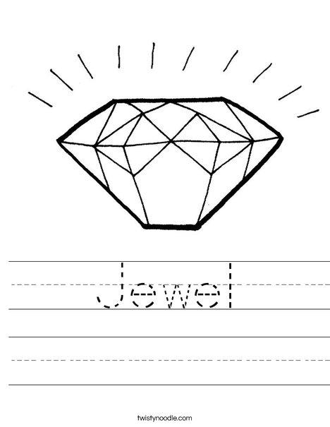 Diamond Worksheet