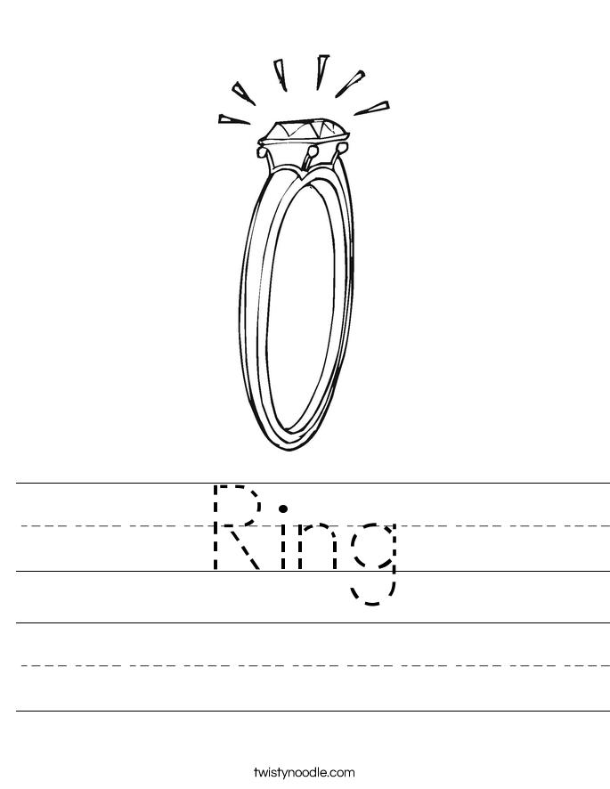 Ring Worksheet