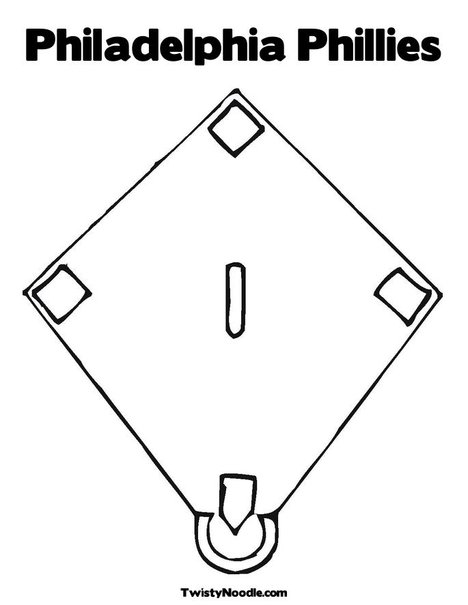 philadelphia phillies coloring pages free - photo#5
