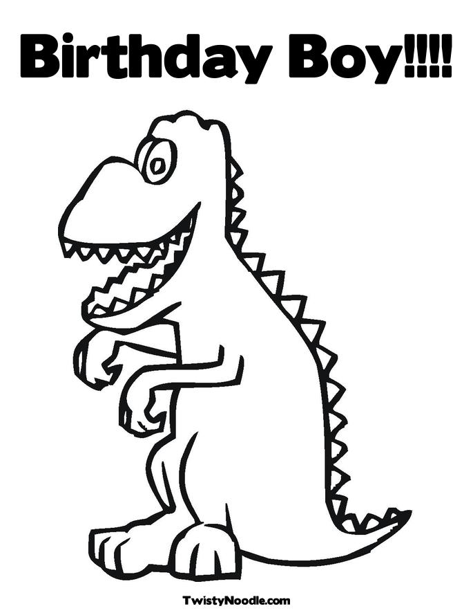 free first birthday coloring pages - photo#13