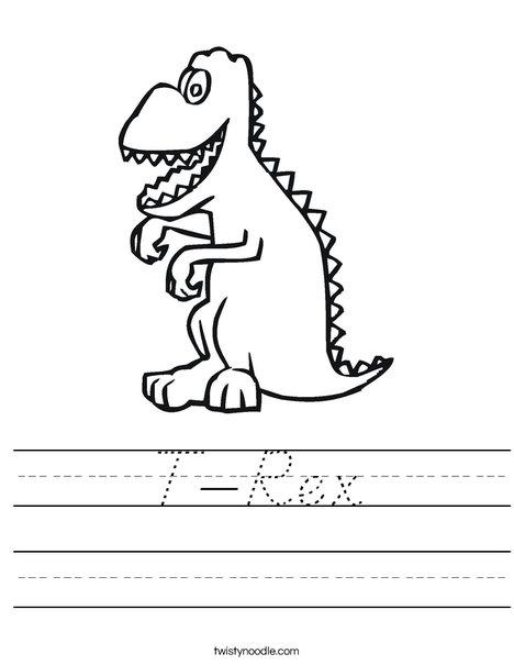 T-Rex Worksheet