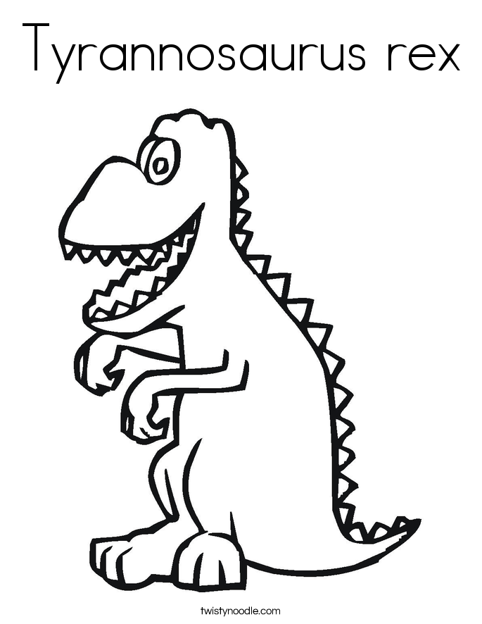 great rex coloring page with rex coloring page