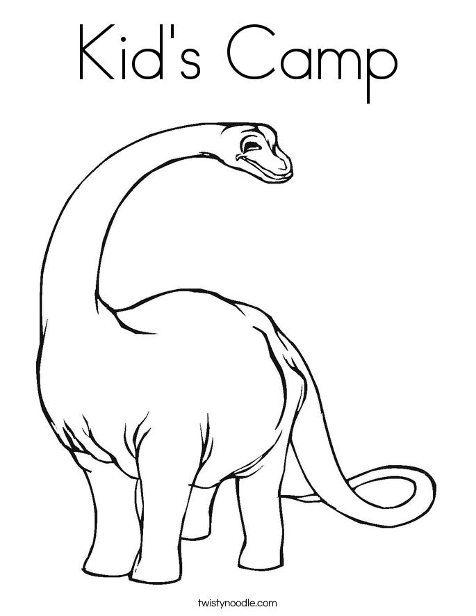 kid 39 s camp coloring page twisty noodle. Black Bedroom Furniture Sets. Home Design Ideas