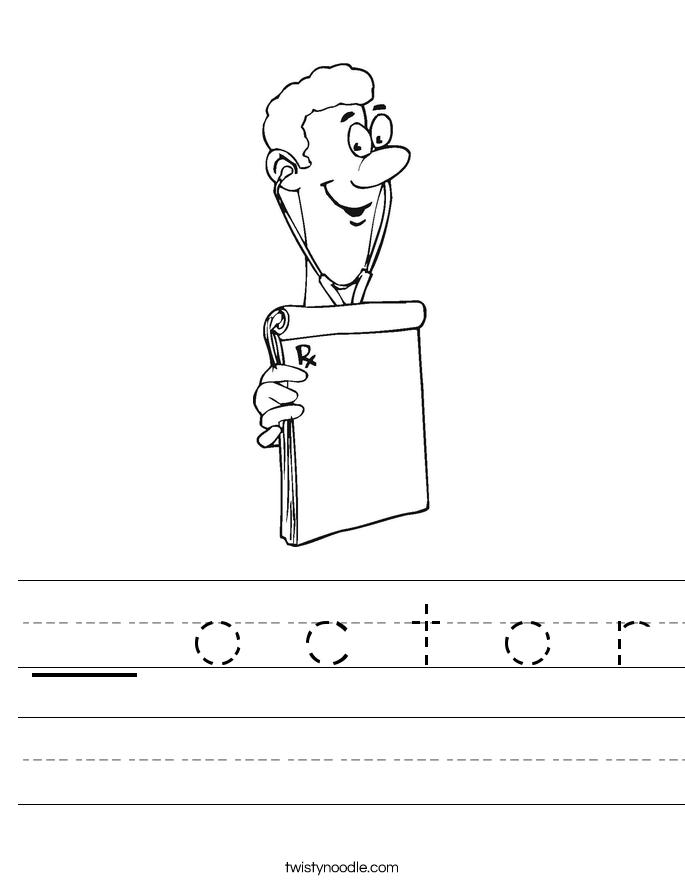 __ o c t o r Worksheet