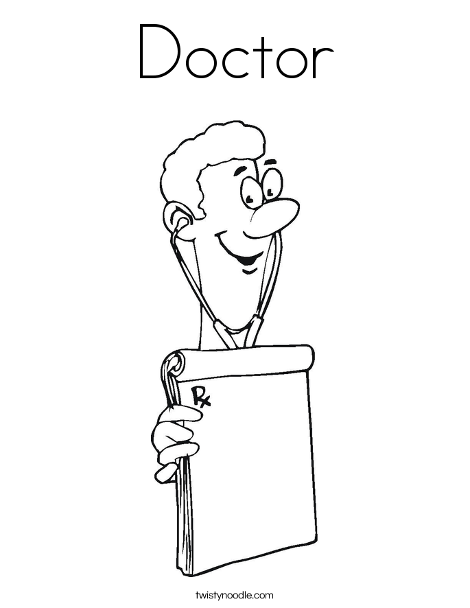 Doctors Coloring Pages